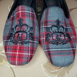 VERO CUOIO Plaid Loafers